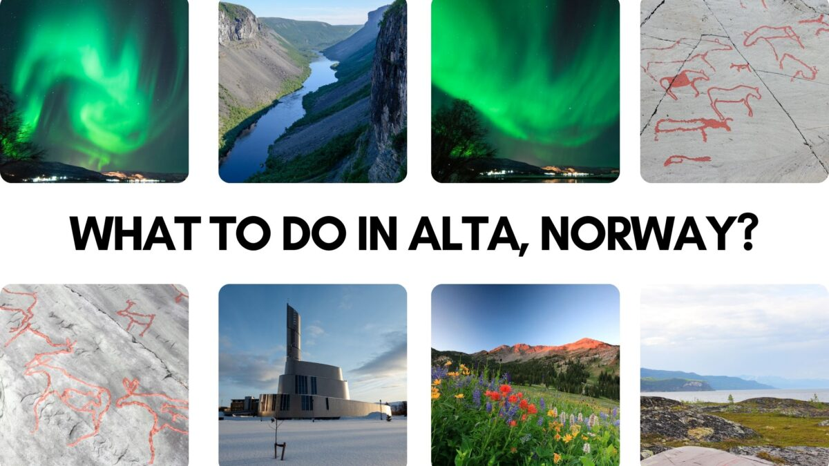 things to do in alta norway